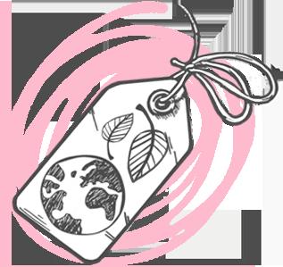 illustrazione sostenibilità ambientale food packaging rouge comunicazione