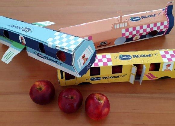 le piccoline melinda food packaging innovativo
